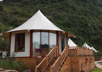 贵州八边形野奢帐篷酒店