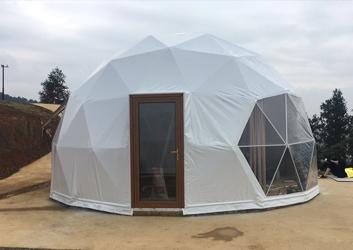 桂平6.4米球形酒店帐篷