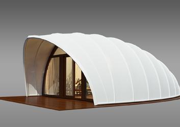 新款贝壳帐篷酒店方案
