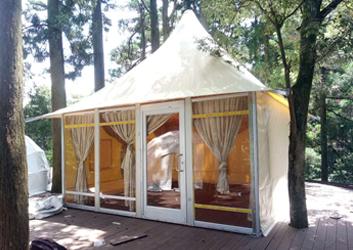 经济型帐篷酒店价格