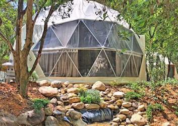 星空球形帐篷-广州惠州罗浮山景区