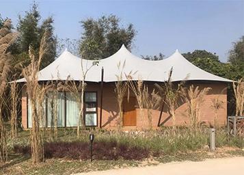 景区野奢帐篷-两室一厅酒店帐篷