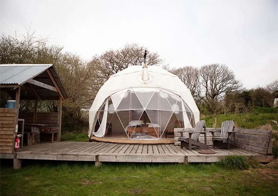 旅游景区营地帐篷-洱海球形帐篷酒店