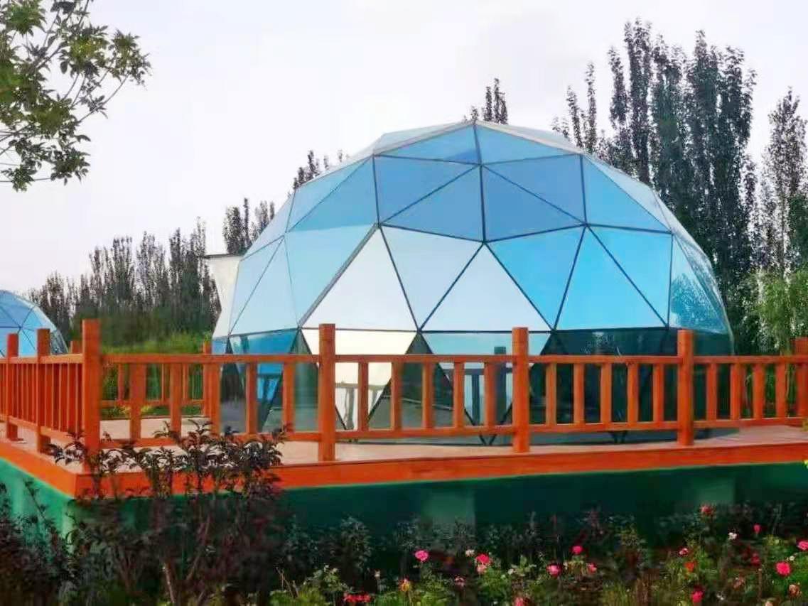 玻璃球形帐篷酒店-酒店帐篷设计