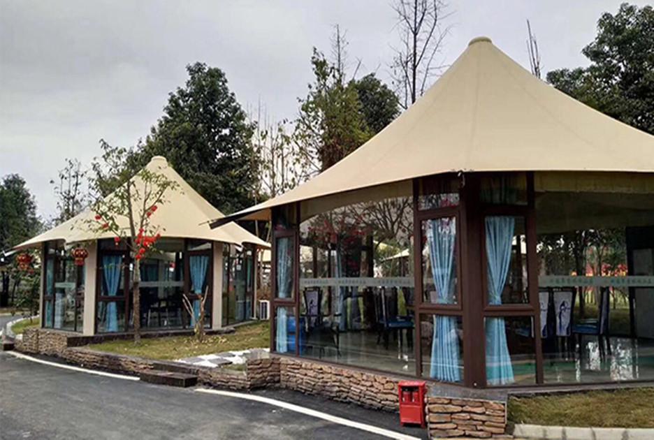 景区民宿营地酒店帐篷设计定制