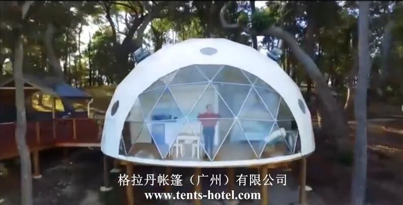 格拉丹球形帐篷酒店营地设计