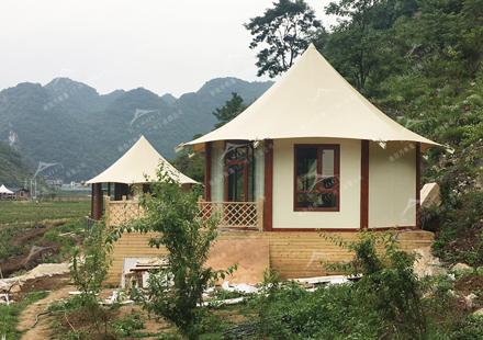 野奢帐篷酒店-非洲部落款