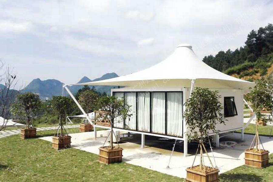 四川6X8M四边形欧式帐篷酒店