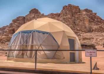 沙漠营地星空帐篷-球形酒店帐篷