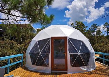 吉林球形帐篷酒店-云南玉龙雪山营地