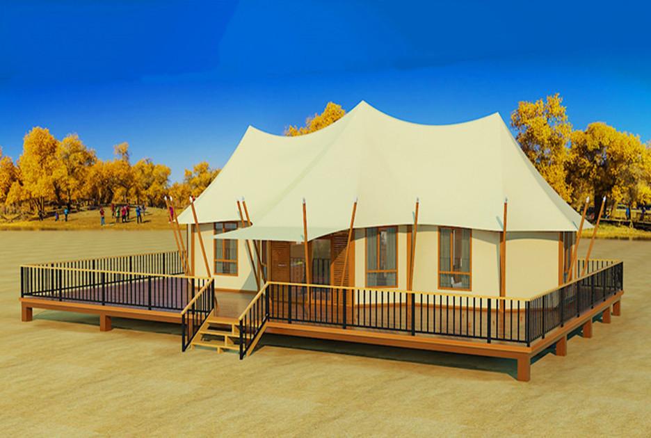 三峰营地酒店野奢帐篷-豪华套房