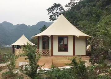 野奢帐篷酒店-八边形30平方米酒店帐篷