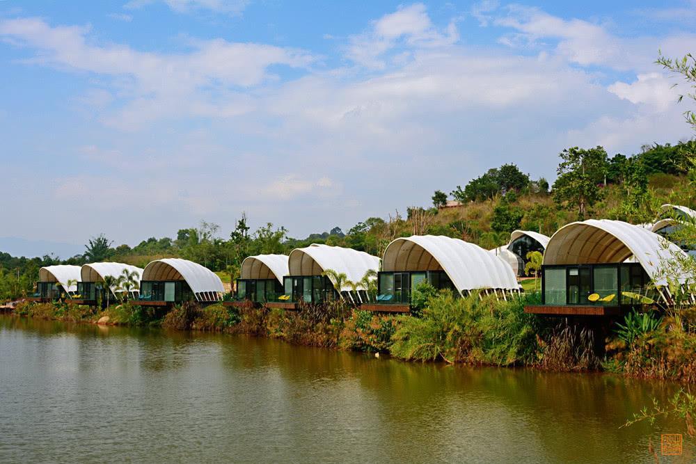 帐篷酒店设计-萤火虫帐篷