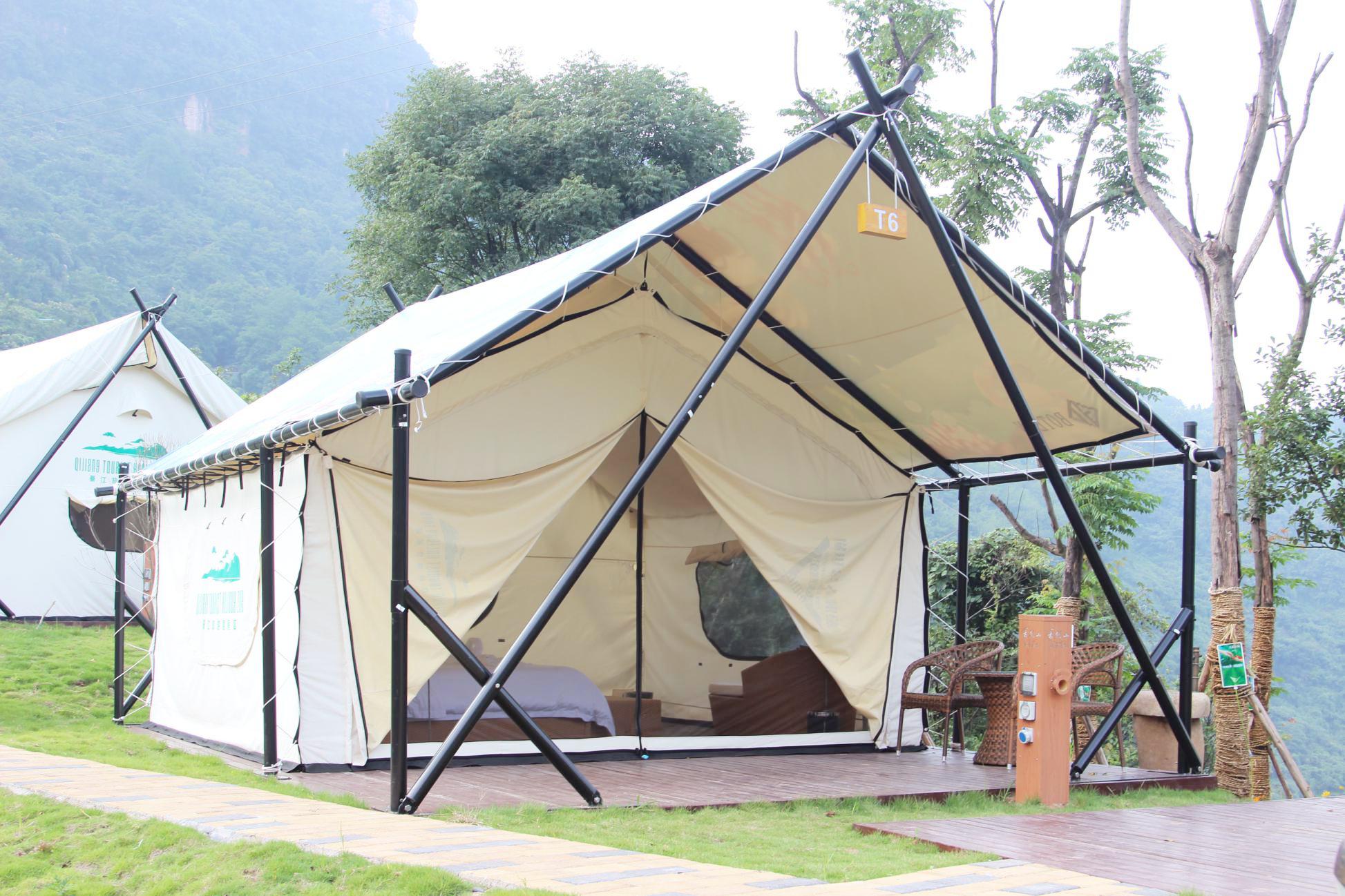 简易帐篷-广东帐篷酒店