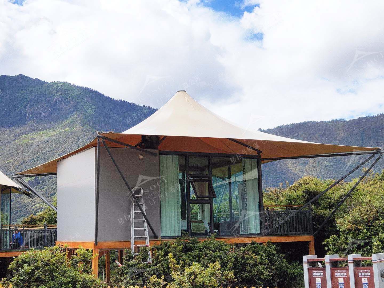 别墅酒店帐篷-帐篷酒店设计制作