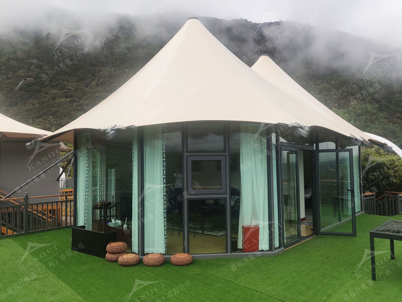 度假帐篷酒店-帐篷别墅