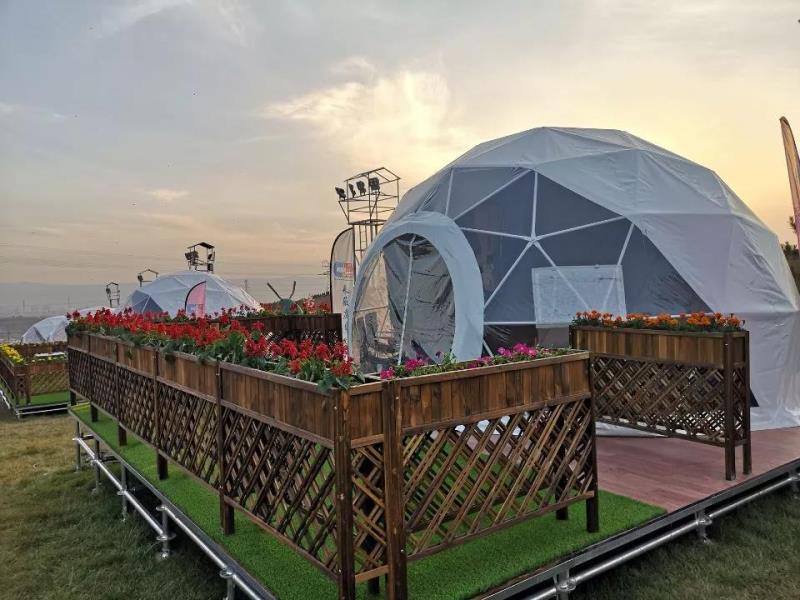 球形帐篷旅馆-户外营地帐篷