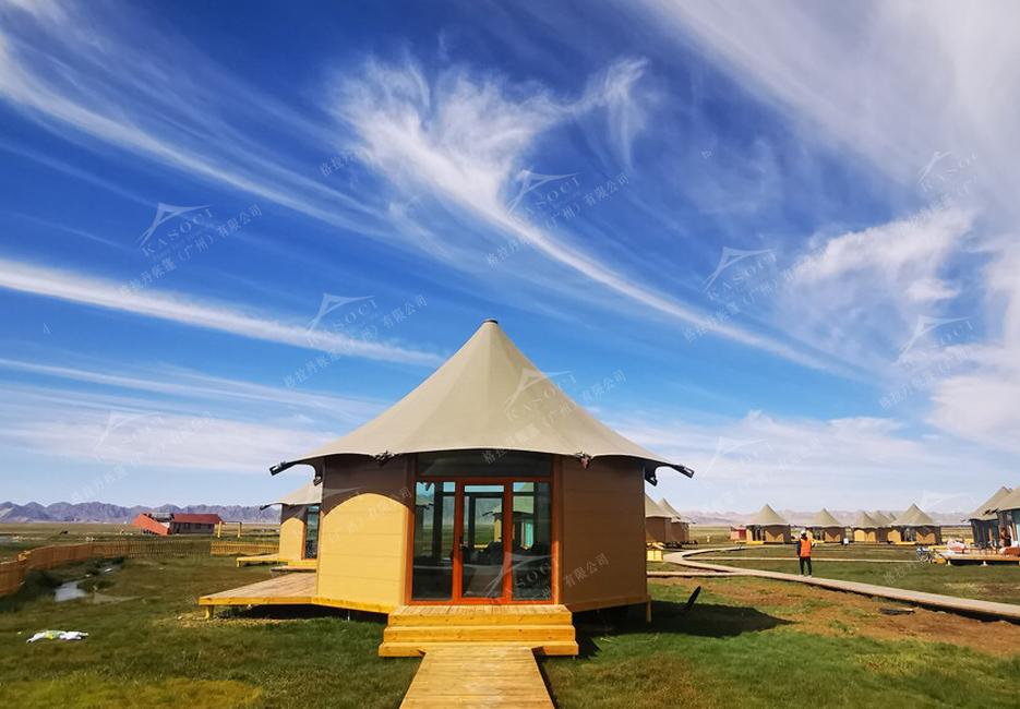 澳洲酒店帐篷设计
