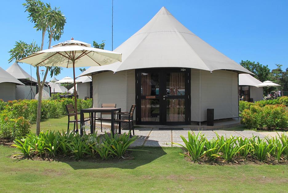 单峰酒店帐篷-八边形野奢帐篷酒店