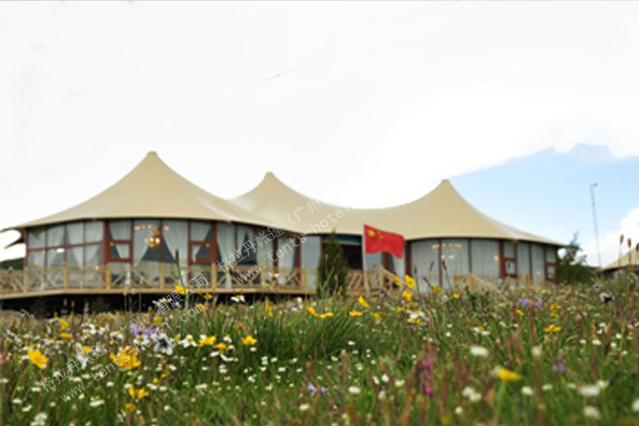 若尔盖大草原野奢帐篷酒店