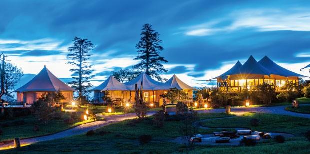 格拉丹帐篷酒店