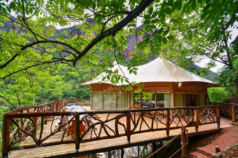 湖南省帐篷酒店