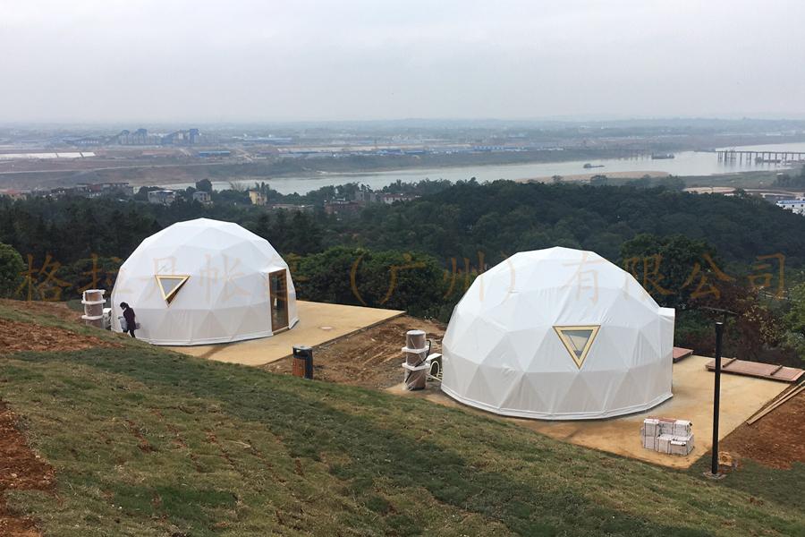 球形星空酒店帐篷