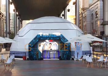吉林12米球形篷房-北京户外展馆圆顶
