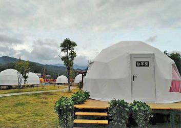 江西球形帐篷-靖安星座星空篷房
