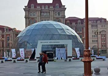 大型球形帐篷-东风日产车展篷房