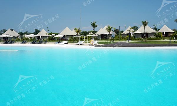 印度尼西亚民丹岛之酒店帐篷