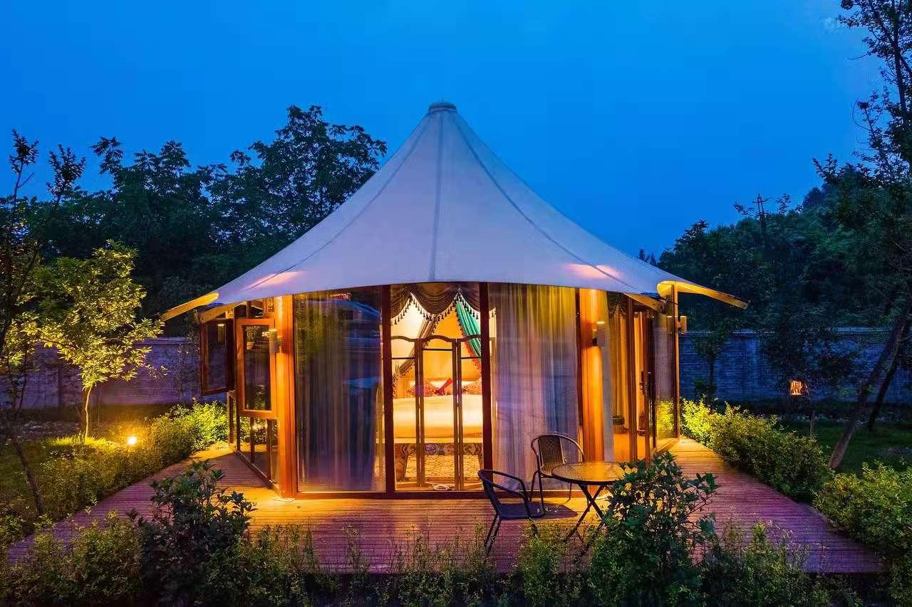 别墅酒店帐篷