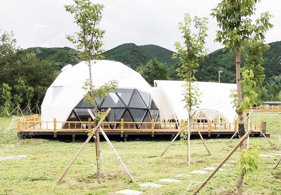 新疆吉林帐篷酒店-景区帐篷酒店设计