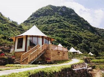 旅游景区野奢酒店帐篷